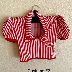 Sexy Candy Nurse costume